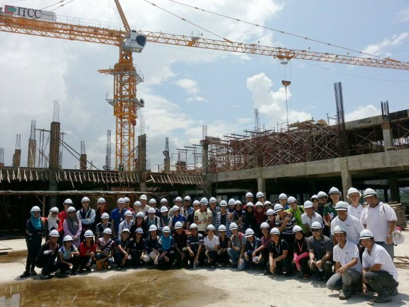 Engineering Faculty student of UMS Study Tour